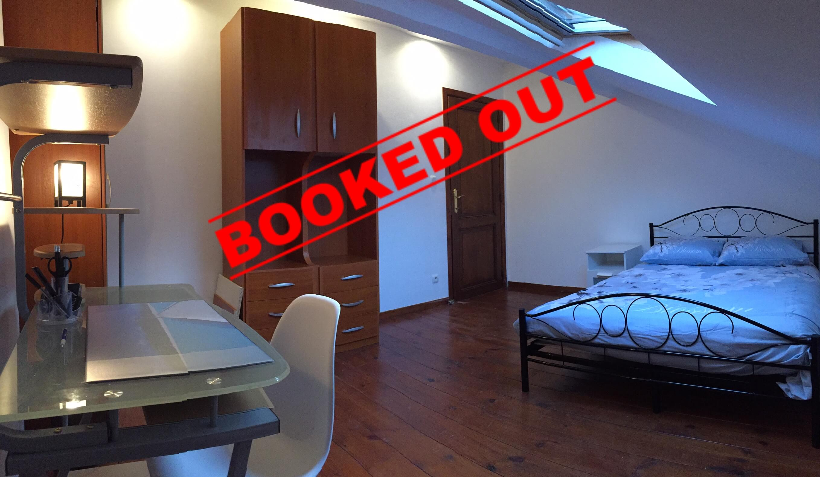 Accommodation: Room for erasmus students in Liège in residence 2