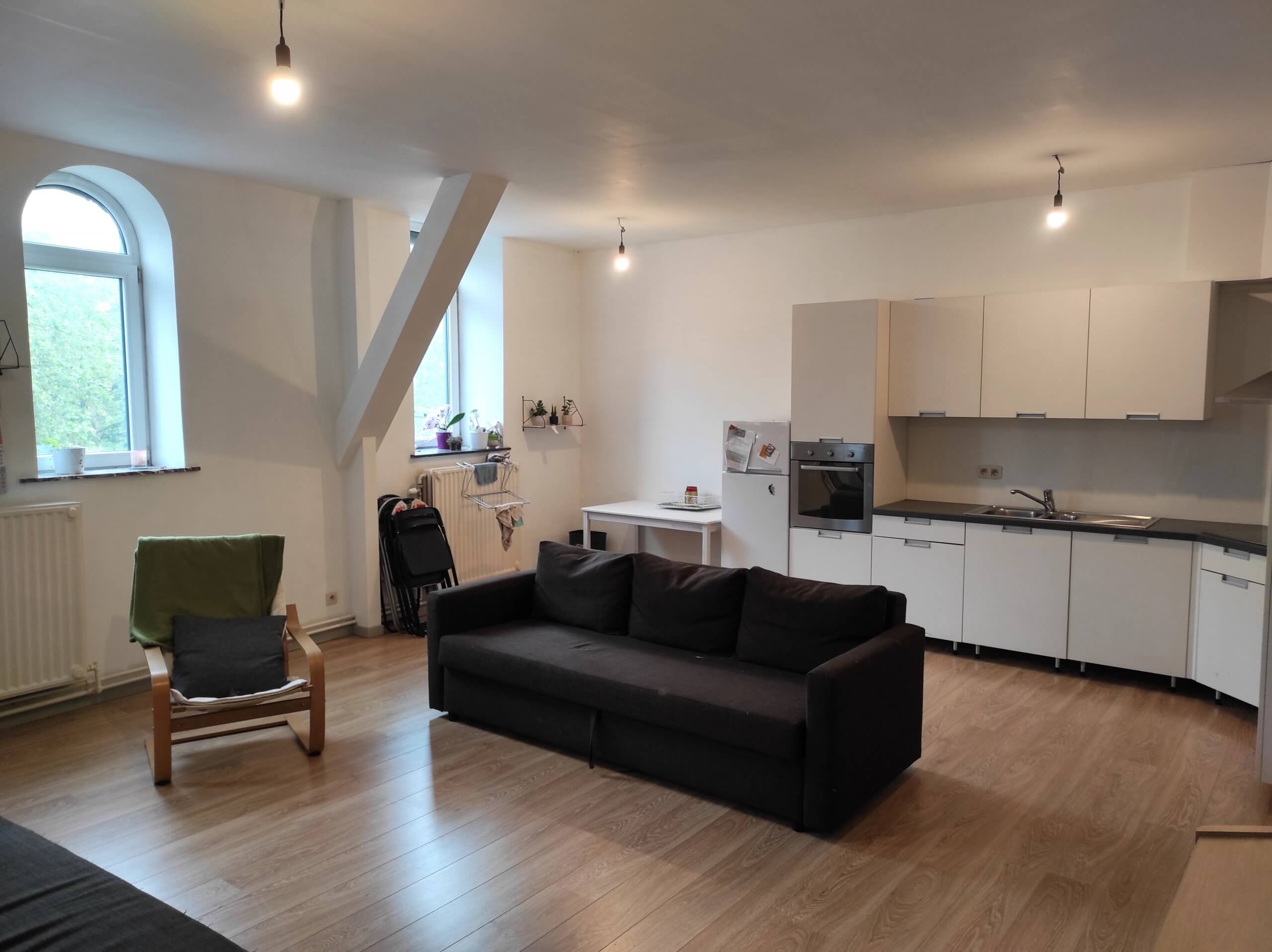Accommodation: Room for erasmus students in Liège in residence 1